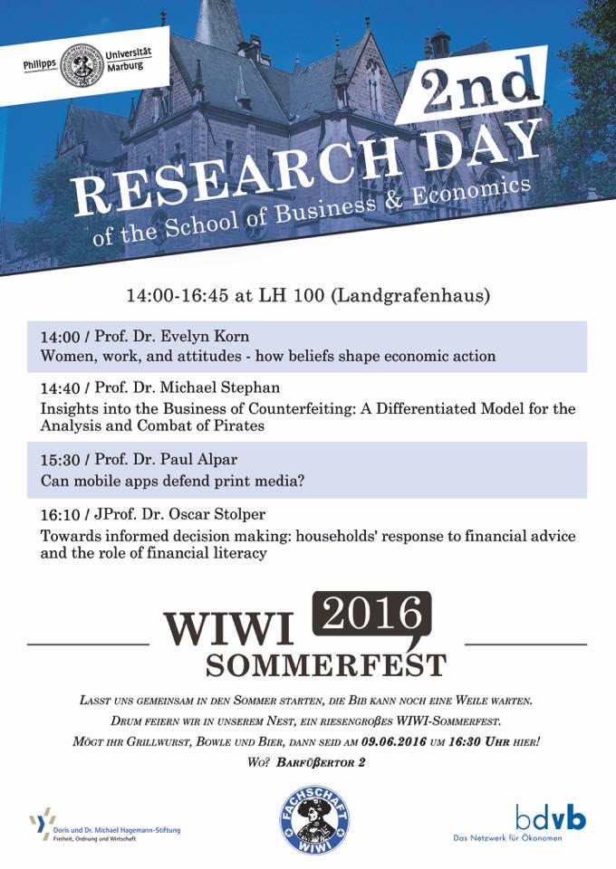 Wiwi Sommerfest
